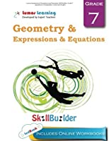 Lumos Expressions & Equations and Geometry Skill Builder Grade 7 - Equations or Inequalities Circles and Angles: Plus Online Activities Videos and Apps (Lumos Math Skill Builder) (Volume 4) [並行輸入品]