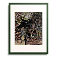 オトン・フリエス 「Garten. 1928.」 額装アート作品
