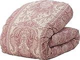 エムール プレミアムゴールドラベル 合い掛け羽毛布団 ダブル ポーランド産ホワイトダックダウン93% ピンク