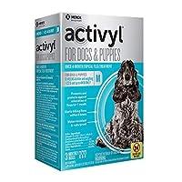 Activyl Medium Dogs & Puppies 23-44lbs 3-Pack [並行輸入品]