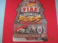 Hot Wheels Scorchin Scooter Fire Department Daytona Beach Florida