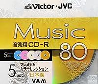ビクター CD-R CDA80GAX5 80