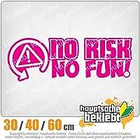 KIWISTAR - No Risk No Fun Racing Racing Car 15色 - ネオン+クロム! ステッカービニールオートバイ