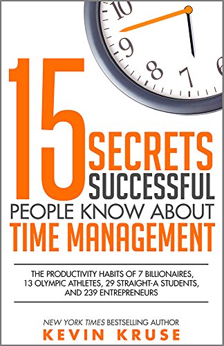 amazon 15 secrets successful people know about time management
