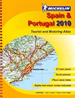 MOT Atlas Spain and Portugal 2010 (Michelin Tourist and Motoring Atlases)