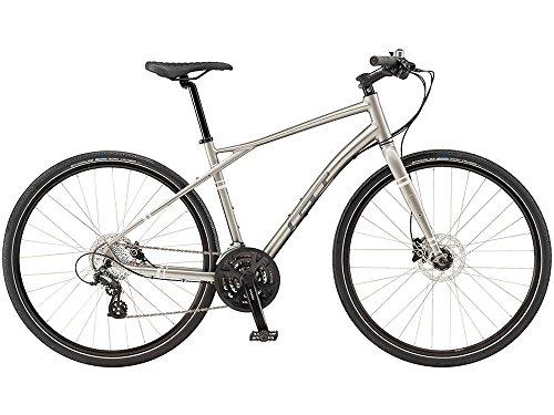 GT (ジーティー) 2016 トラフィック3.03x7sクロスバイク700C グレー XL 9164305