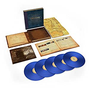 THE LORD OF THE RINGS: THE TWO TOWERS  THE COMPLETE RECORDINGS [5LP] (180 GRAM, BLUE VINYL) [12 inch Analog]
