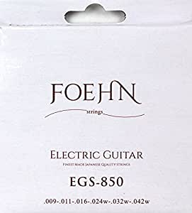 FOEHN EGS-850 Electric Guitar Strings Super Light エレキギター弦 09-42