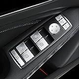 メルセデス BENZ ベンツ A/B/C/E/GLE/GLA/CLA/GLK/ML W212 W204 パワーウィンドウ 14P シート コントロール スイッチ カバー 内装 カスタム アクセサリー トリム