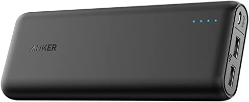 Anker 20000Mah Portable Charger Powercore 20100 - Ultra High Capacity Power Bank with 4.8A Output, Poweriq Technology...