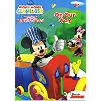 Disney Mickey Mouse Clubhouse Set of 4 Different 96 Page Colouring Books