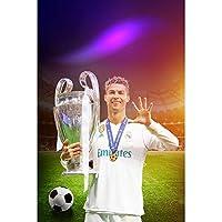 EMGフランスのサッカーチームは、2018年のサッカーワールドカップ記念ポスターサッカーファンのギフトの壁のステッカーの装飾ステッカーを獲得-88047