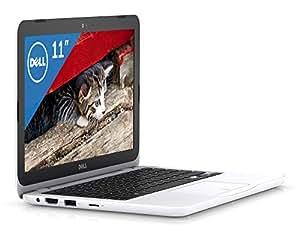 Dell ノートパソコン Inspiron 11 Celeronモデル ホワイト 17Q31W/Windows10/11.6インチ/4GB/32GB