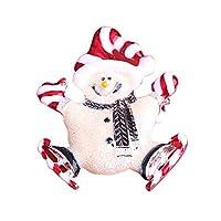 shiningloveファッションクリスマス合金ブローチピンかわいい雪だるまchestpins服ハンドバッグDecorations
