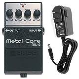 【ACアダプターセット】 Boss(ボス) Metal Core ML-2 ハイゲインディストーション ギターエフェクター