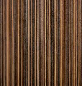 貼ってはがせる 壁紙シール PETAPA 賃貸OK 木目 50×250cm GP-04 (50×250cm(1本), ダーク ストライプウッド)