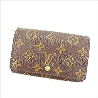 [ルイ ヴィトン] Louis Vuitton L字ファスナー財布 二つ折り財布 ポルトモネビエトレゾール M61730 モノグラム 中古 Y6139