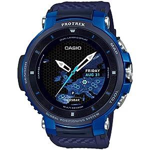 [カシオ]CASIO スマートアウトドアウォッチ プロトレックスマート GPS搭載 WSD-F30-BU メンズ