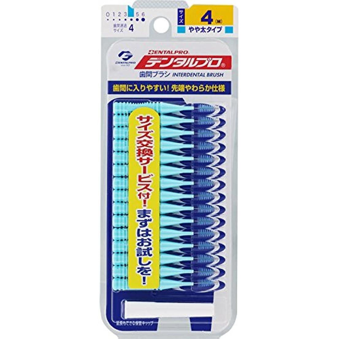 レッドデート十代マダムジャックス デンタルプロ 歯間ブラシ(I字型) サイズ4 ブルー M