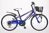 21Technology 22インチ マウンテンバイク kd226 6段ギア付き