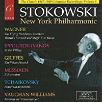 Leopold Stokowski: The New York Philharmonic Columbia (US) Recordings, Volume 1 by Leopold Stokowski (2002-10-29)