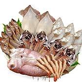【冷凍】豪華海の幸・干物 セット (笹かれい 甘だい はたはた あじ するめいか 甘エビ 一夜干し)