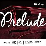 D'Addario Prelude Cello Single D String 4/4 Scale Medium Tension [並行輸入品]