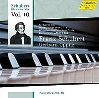 Schubert: Piano Works, Vol. 10 by Gerhard Oppitz (2013-08-27)