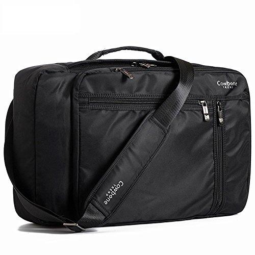 ビジネスバッグ ブリーフケース 3Way 大容量 ビジネスリュック メンズ 軽量 撥水 (ブラック)