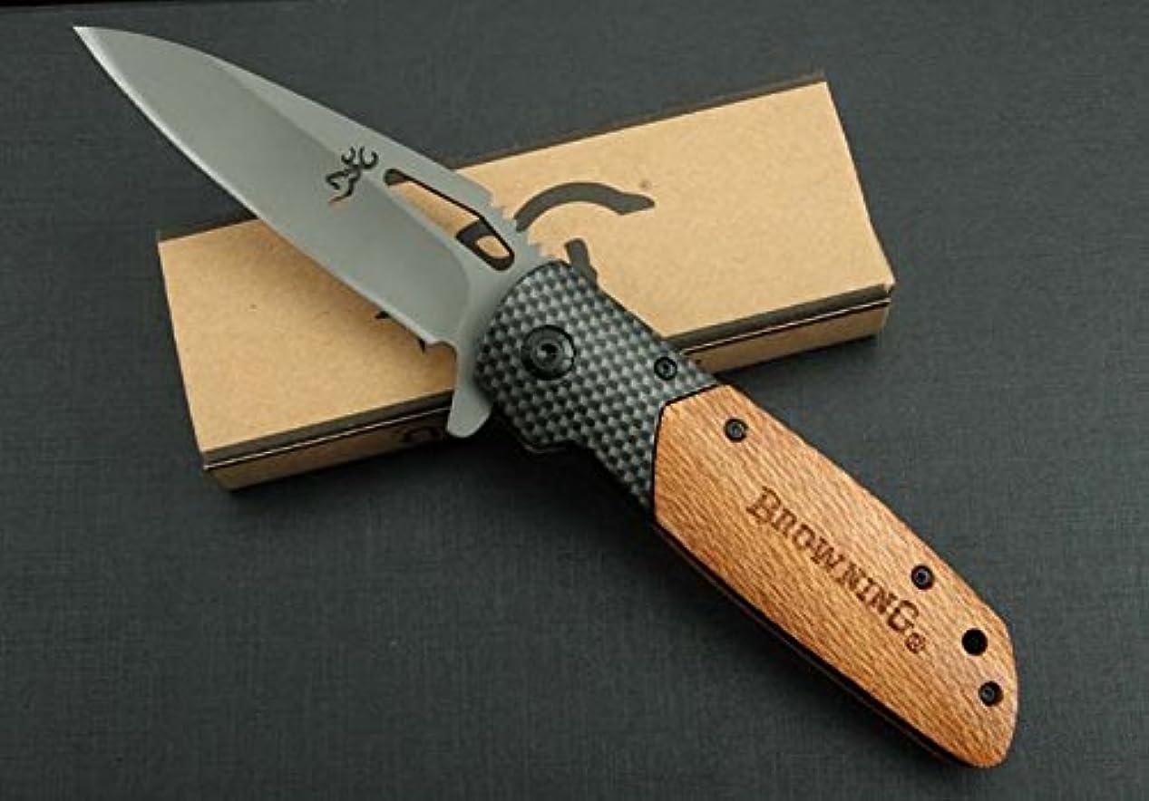 りシュガーモンゴメリーFiddleback Maple Lumber 白影木 X28 折りたたみナイフ 直刃