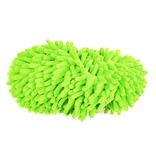 Homeland 걸레 슬리퍼 신발 세탁 청소 쉽게 바닥 청소 그린/Homeland mop slippers shoes washable mop easy floor cleaning green