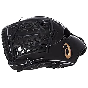 asics(アシックス) 硬式 野球用 グローブ 内野兼外野用(右投げ用) 高校野球対応 NEORIVIVE ネオリバイブ サイズ9 2019年モデル BGH7MU ブラック LH(右投げ用)