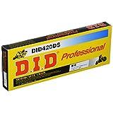 D.I.D(大同工業)バイク用チェーン クリップジョイント付属 420DS-098RB STEEL(スチール) 強化チェーン 二輪 オートバイ用