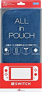 Switch用ALL in POUCH(ブルー)