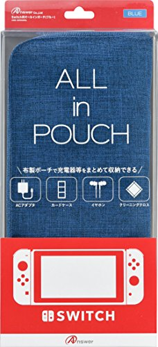 Switch用ALL in POUCH (ブルー)
