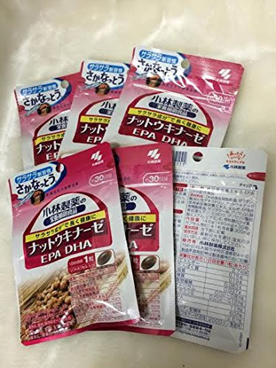 囲むホーム労働小林製薬の栄養補助食品 ナットウキナーゼ?DHA?EPA 30粒(約30日分) 6セット