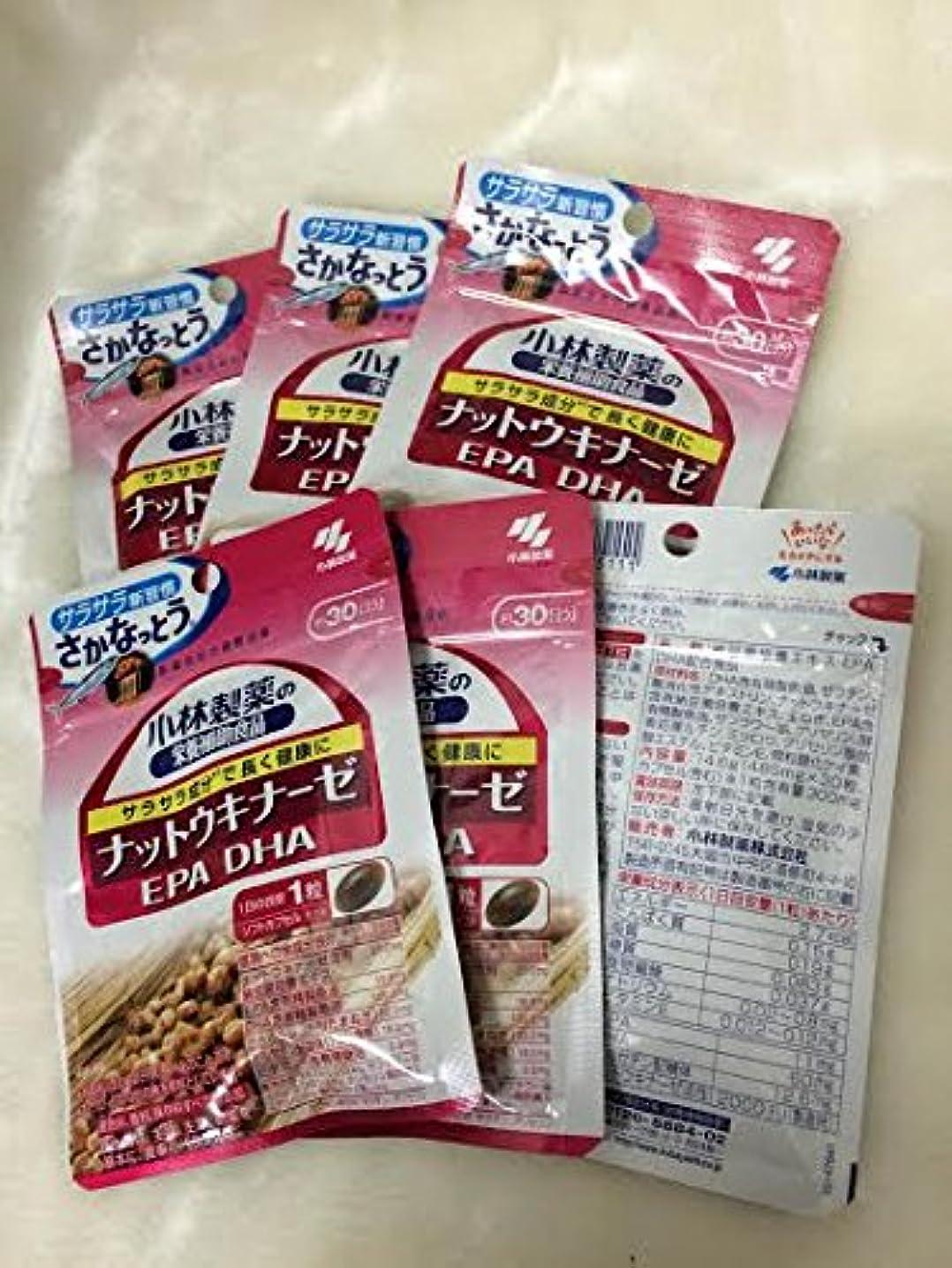 パントリーハードウェアフェンス小林製薬の栄養補助食品 ナットウキナーゼ?DHA?EPA 30粒(約30日分) 6セット
