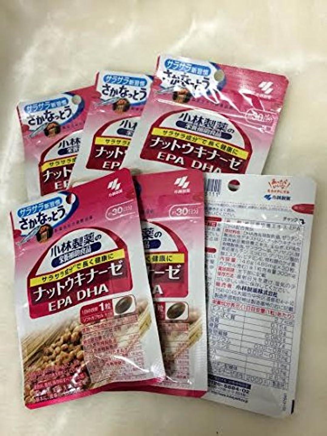 逃れるアカウントフレームワーク小林製薬の栄養補助食品 ナットウキナーゼ?DHA?EPA 30粒(約30日分) 6セット
