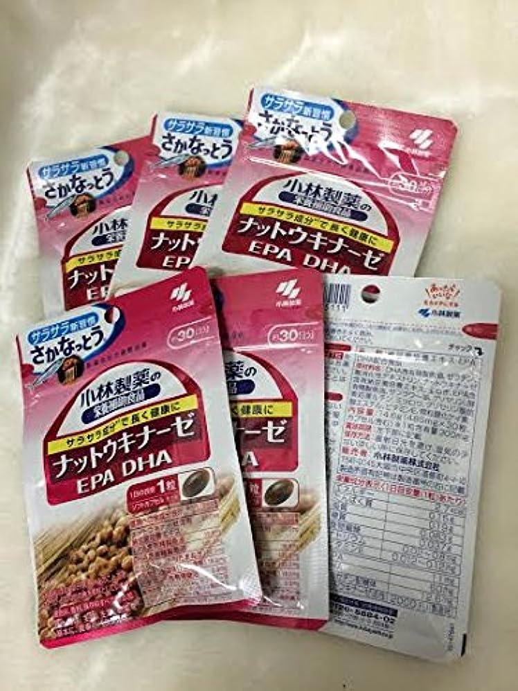 灰料理趣味小林製薬の栄養補助食品 ナットウキナーゼ?DHA?EPA 30粒(約30日分) 6セット