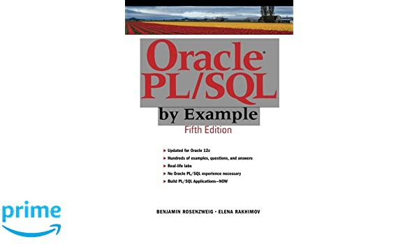 amazon oracle pl sql by example 5th edition prentice hall