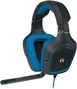 Logicool G ゲーミングヘッドセット G430 ブラック 2.1ch ステレオ ノイズキャンセリング マイク 付き PC usb 軽量 国内正規品 2年間メーカー保証
