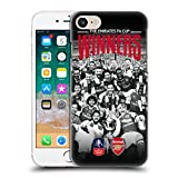 オフィシャル Arsenal FC セレブレーション 2017 The Emirates Fa Cup Winners ハードバックケース Apple iPhone 7 / iPhone 8