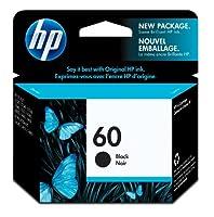 HP 60 Black Original Ink Cartridge (CC640WN) 【Creative Arts】 [並行輸入品]