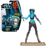 Hasbro スター・ウォーズ 2012 クローン・ウォーズ ベーシックフィギュア アイラ・セキュラ/Star Wars 2012 The Clone Wars Action Figure CW14 Aayla Secura【並行輸入】