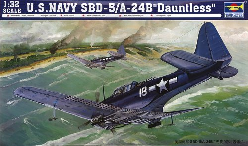 1/32 SBD-5/A-24B ドーントレス 急降下爆撃機