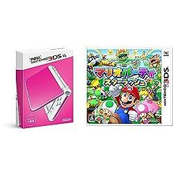 Newニンテンドー3DS LL ピンク×ホワイト + マリオパーティ スターラッシュ - 3DS セット