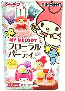 マイメロディフローラルパーティ 8個入 BOX(食玩・チューインガム)