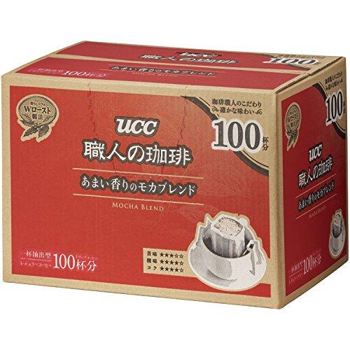 職人の珈琲 ドリップコーヒー あまい香りのモカブレンド(100杯分)