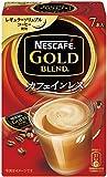 ネスカフェ ゴールドブレンド カフェインレス スティックコーヒー 7P×6箱