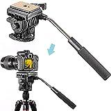 NEEWER (NEEWER製品のプロ版)フリュードビデオ雲台 カメラ雲台 クイックリリースプレート付き【並行輸入品】